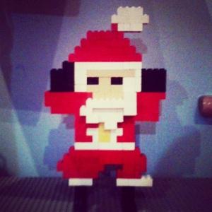 LEGO Santa by Ben English