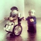 Lego wheenchair